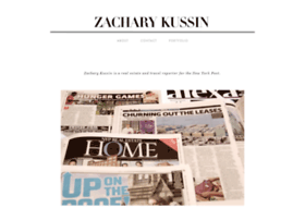 zacharykussin.com