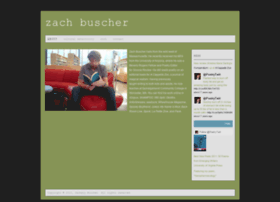 zachbuscher.com