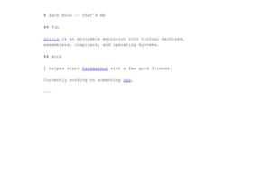zachsnow.com