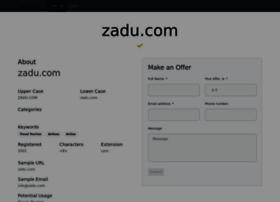 zadu.com