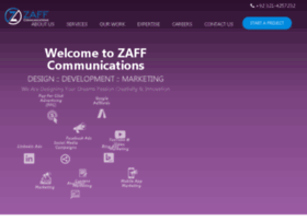 zaffcommunications.com