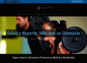 zagrossports.com