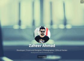 zaheer.info