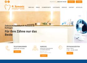 zahnarzt-tomovic.de