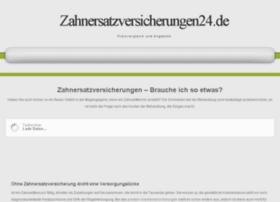 zahnersatzversicherungen24.de