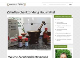 zahnfleischentzuendung-hausmittel.de