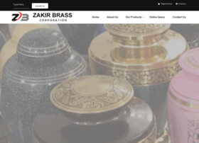 zakirbrass.com