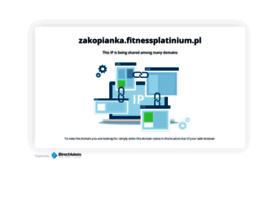 zakopianka.fitnessplatinium.pl
