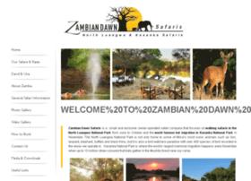 zambiandawnsafaris.com