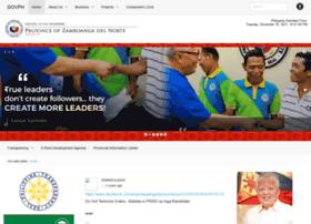 zamboangadelnorte.gov.ph