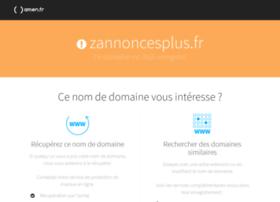 zannoncesplus.fr