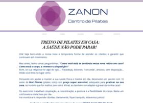zanonpilates.com.br