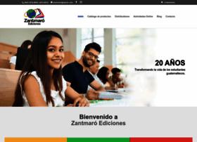 zantmaroediciones.com.gt