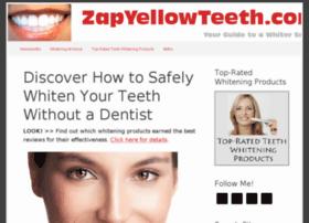zapyellowteeth.com