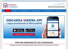 zaragozaciudadana.es