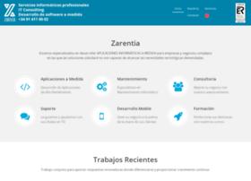 zarentia.es