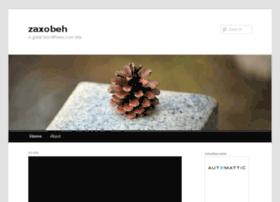 zaxobeh.wordpress.com
