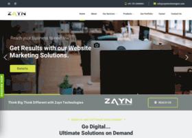 zayntechnologies.com