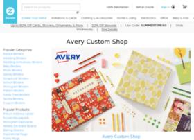 zazzle.avery.com