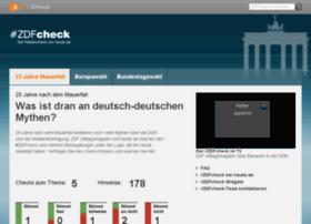zdfcheck.zdf.de