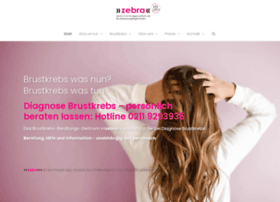 zebra-brustkrebs.de