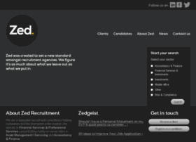zedrecruitment.com