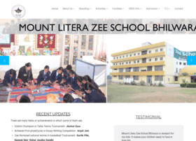 zeeschoolbhilwara.com