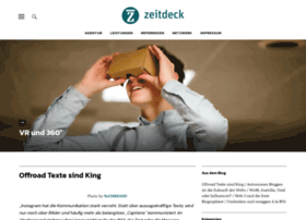 zeitdeck.com