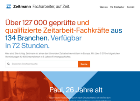 zeitmann-personal.de