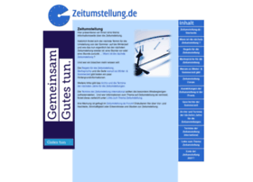 zeitumstellung.de