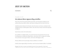 zeitzubeten.org