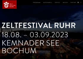 zeltfestivalruhr.de