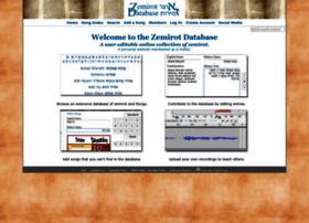zemirotdatabase.org