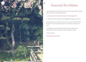 zenhabitsbook.com