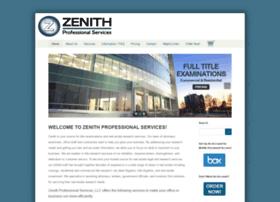 zenithprofessional.com