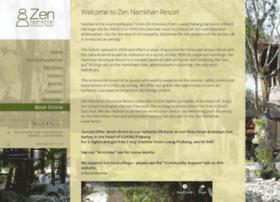 zennamkhanresort.com