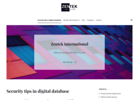 zentek-international.com