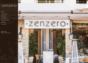zenzerorestaurant.co.za