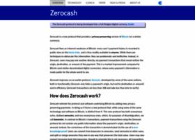 zerocash-project.org