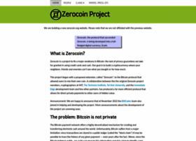 zerocoin.org