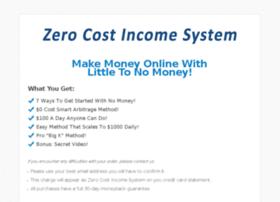 zerocostincomesystem.com
