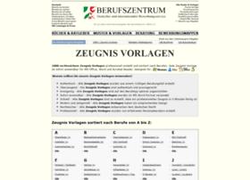 zeugnis-vorlagen.de
