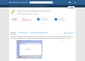 zeus-internet-marketing-robot.software.informer.com