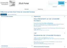 zeus.uni-konstanz.de