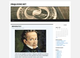 zibaldone.org