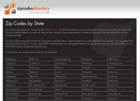 zipcodesdirectory.com