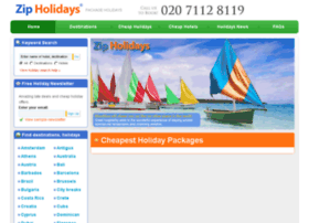 zipholidays.co.uk