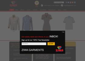 ziwagarments.com