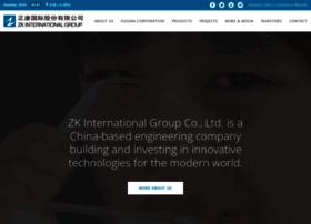 zkinternationalgroup.com