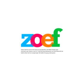 zoef.com